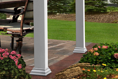 Pergola Base Trims