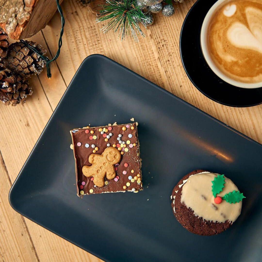 Bramhope Deli Christmas Brownie