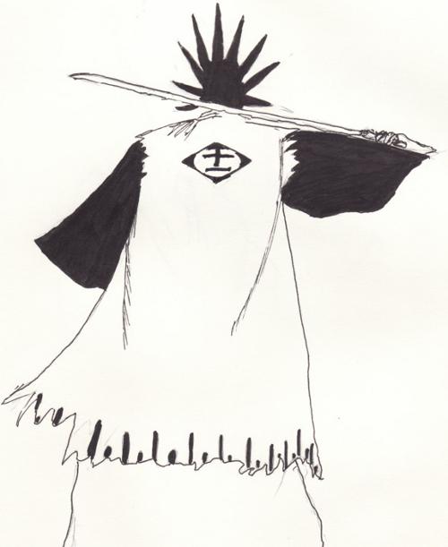 Kenpachi Back Sketch
