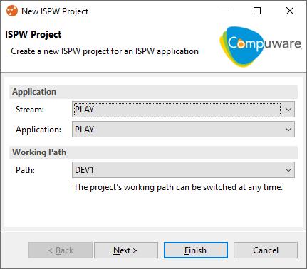NewIspwProjectWizard