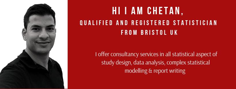hire a statistician freelance medical statistician UK dissertation