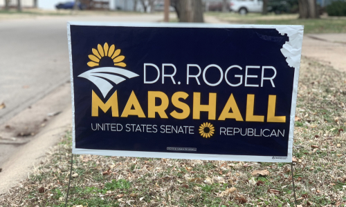 Kansans for Marshall Yard Sign