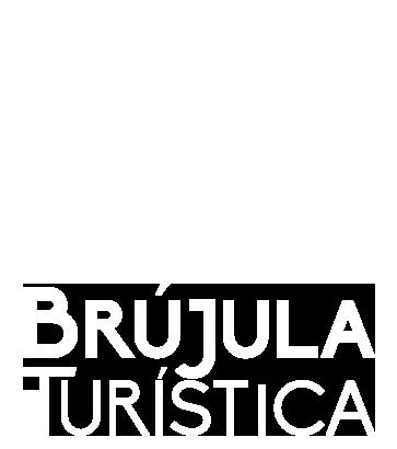 Brújula Turística Turismo en Bolivia Logo White