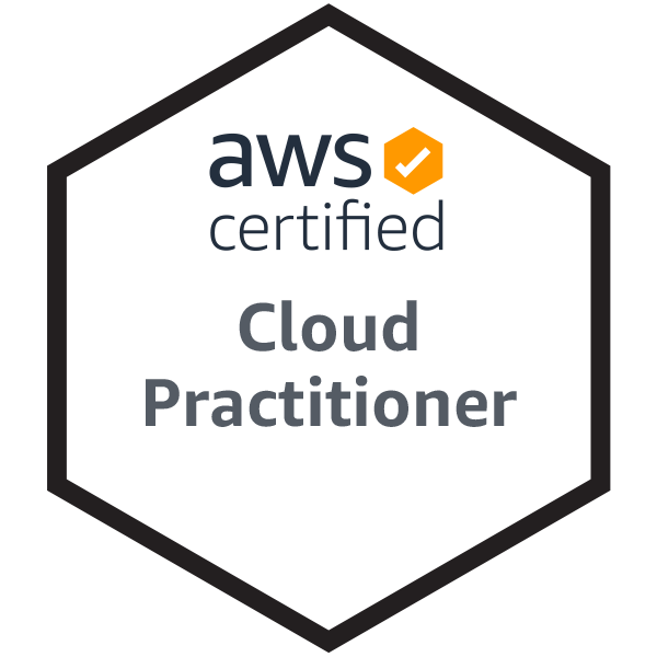 AWS Certified Cloud Practitioner Badge