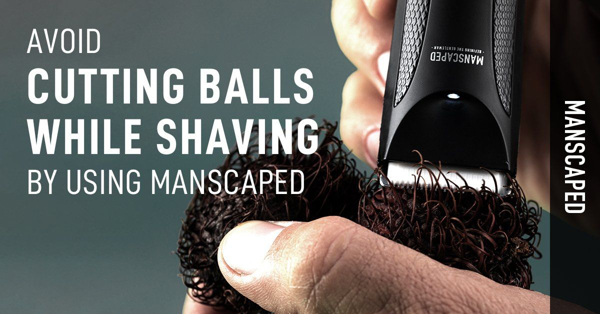 Avoid Cutting Balls While Shaving by Using Manscaped
