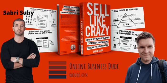 Sell Like Crazy By Sabri Suby