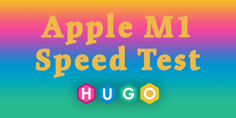 Featured Image for Hugo on Apple M1