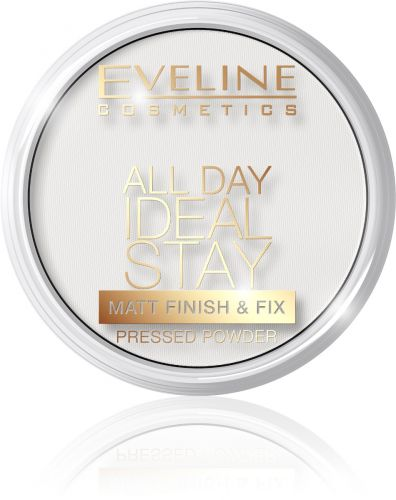 EVELINE ALL DAY IDEAL STAY mattító kőpúder zsíros, olajos bőrre NO.60