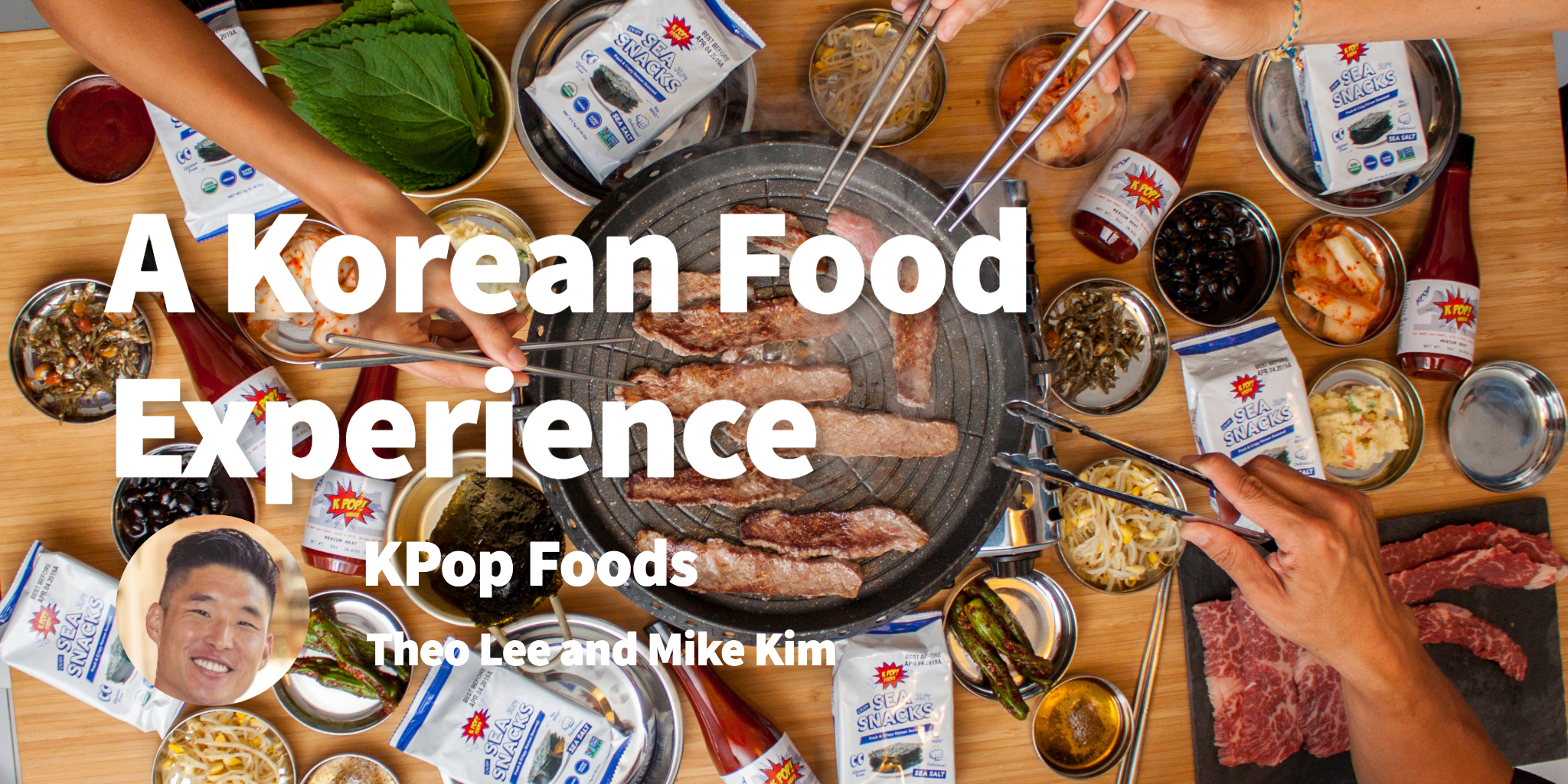 KPOP Foods Theo Lee and Mike Kim
