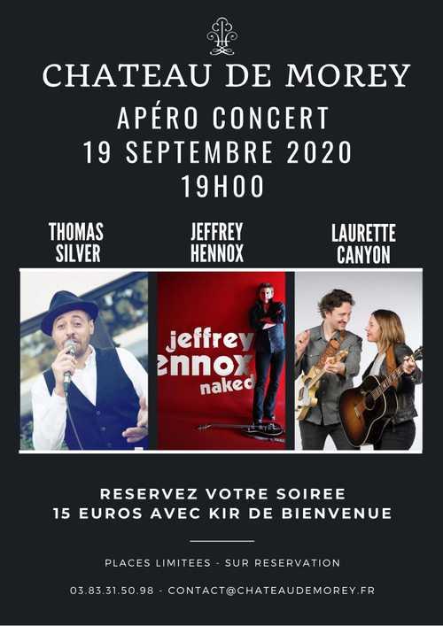 Concert apéro d'exception proche Nancy et Metz