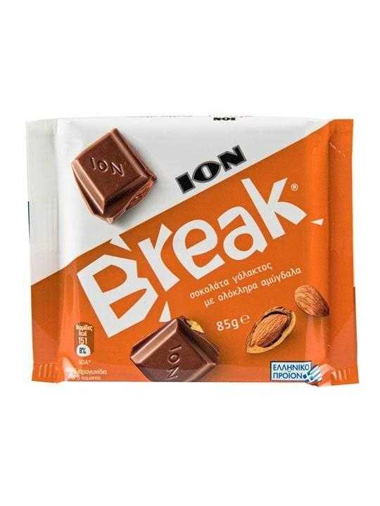 Break Schokolade mit Mandelstücke - 85g