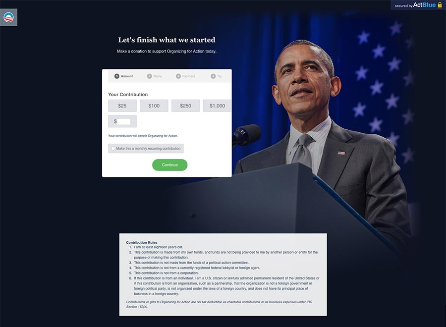 Obama Campagne