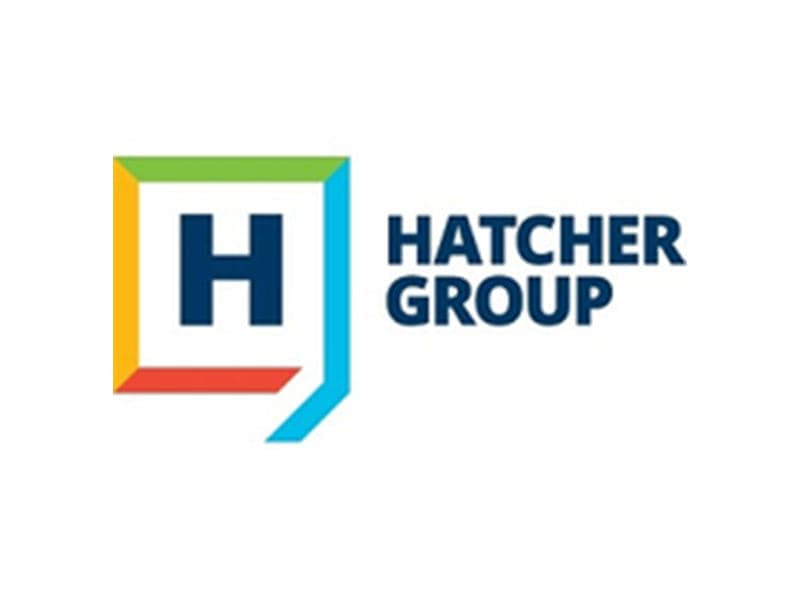 logo for hatcher group