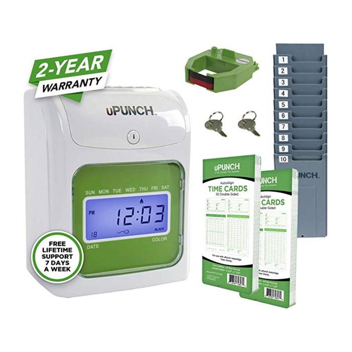 HN1500 Non-Calculating Time Clock Bundle