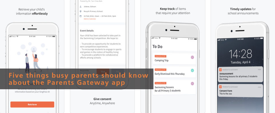 Parents Gateway app