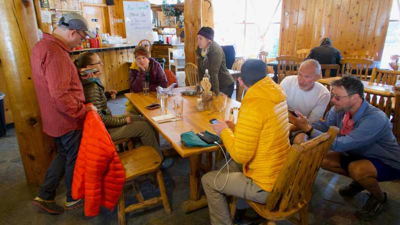 Inside Pine House Cafe