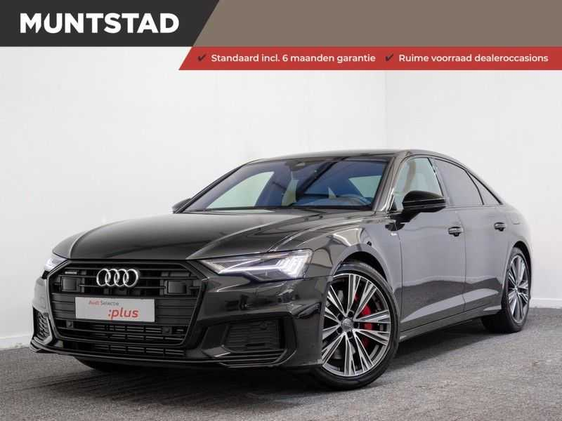 Audi A6 55 TFSI e quattro Competition Plug in Hybrid | 367PK | S-Line | B&O Sound | Nachtzicht | Camera | Adapt.Cruise | Head-Up | Trekhaak | Full Option |