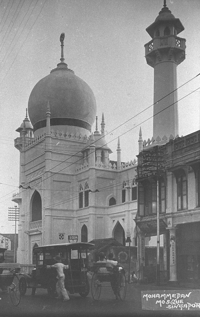 Sultan Mosque, 1930s