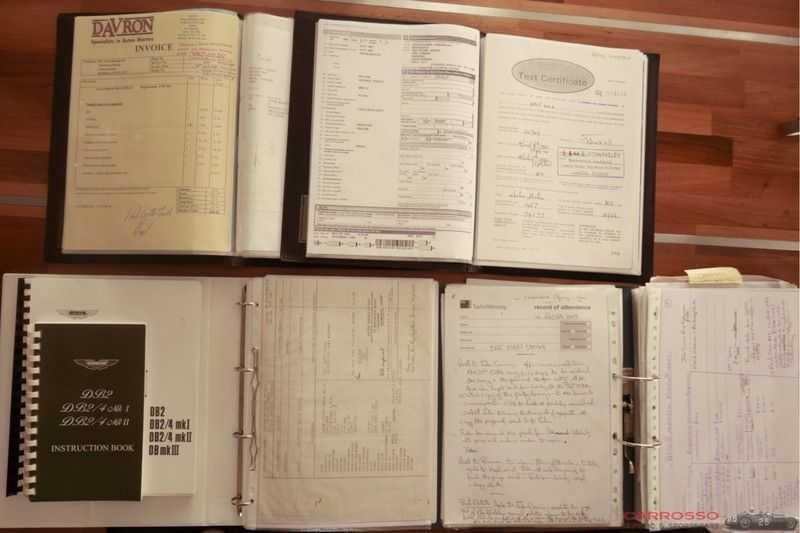 Aston Martin DB 2/4 MARK II 2.9 FIVA ID, Mille Miglia certificate afbeelding 7