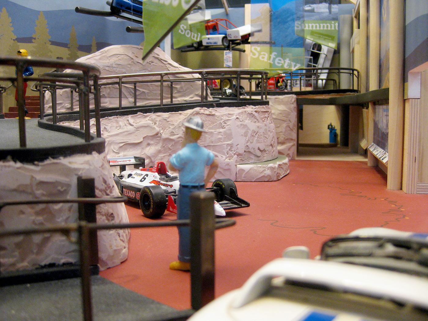 Pikes Peak Hill Climb Experience Museum model making