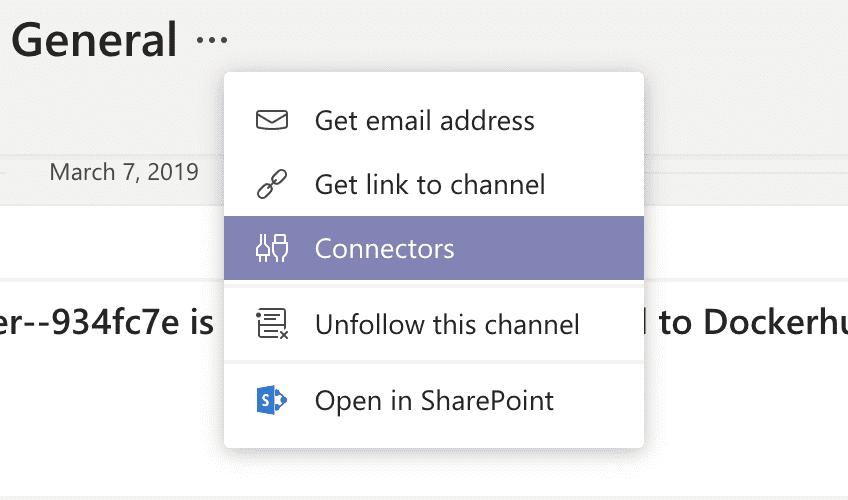 Teams: channel connector