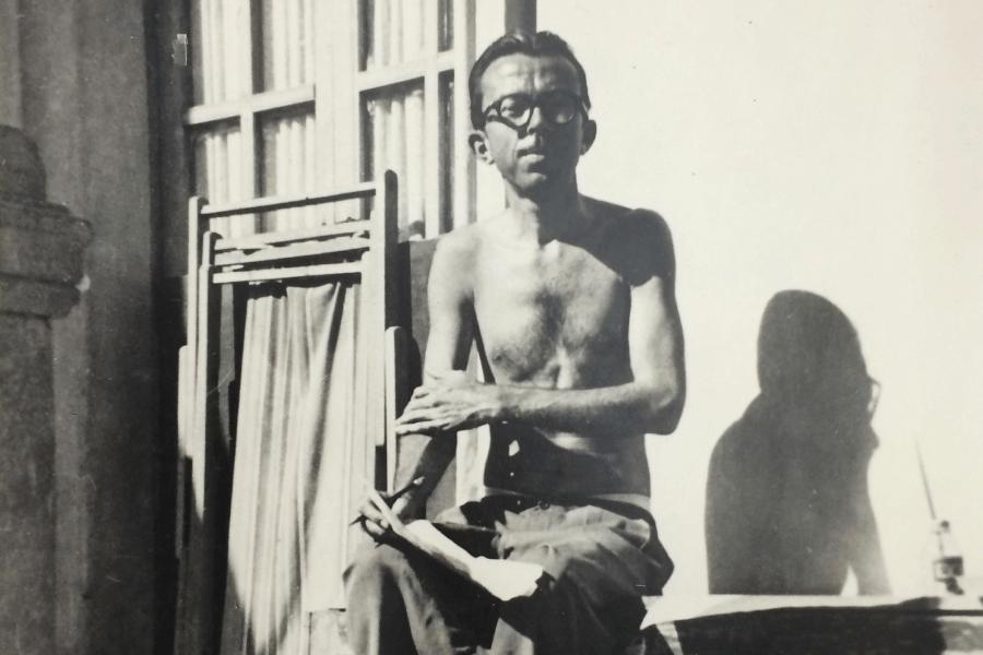 Роберт Барлоу, 1931. Фото: Courtesy John Hay Library, Brown University