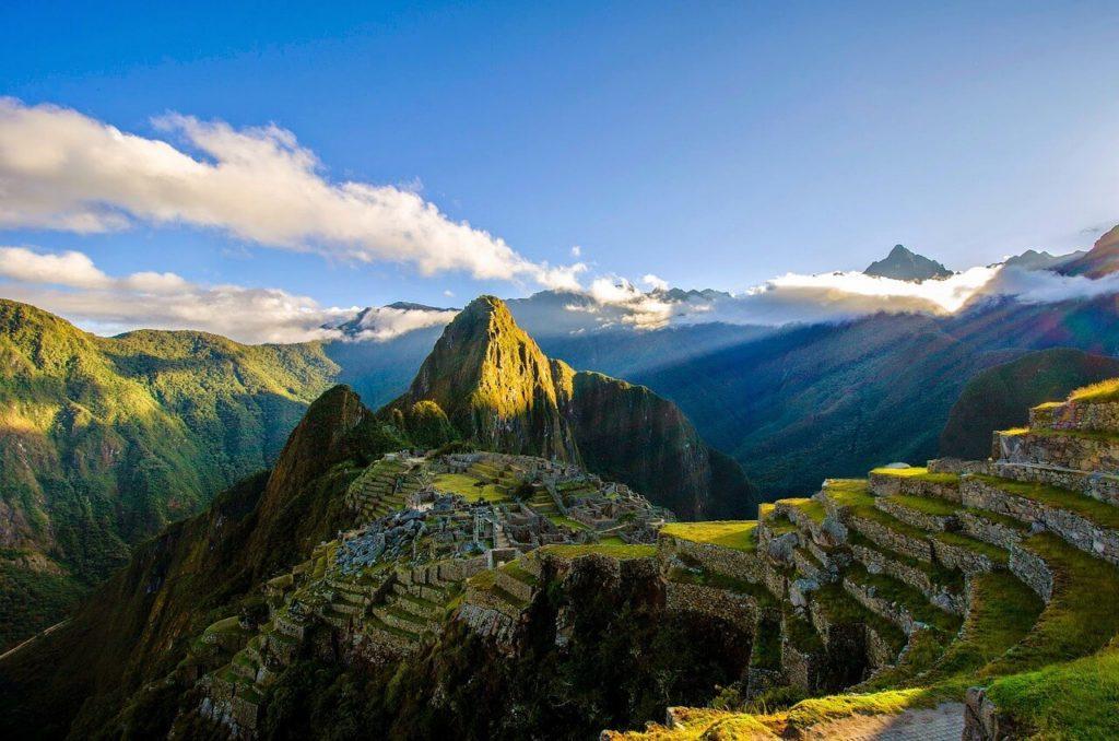 Incan Trail to Machu Picchu.
