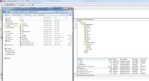 File structure of Django files