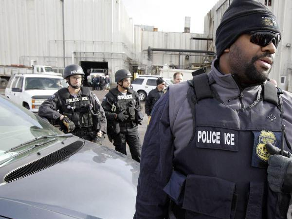 이민세관단속국,  워싱턴일원서 82명 체포