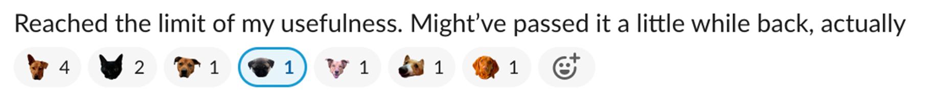 Slack dog emojis