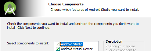 choose components
