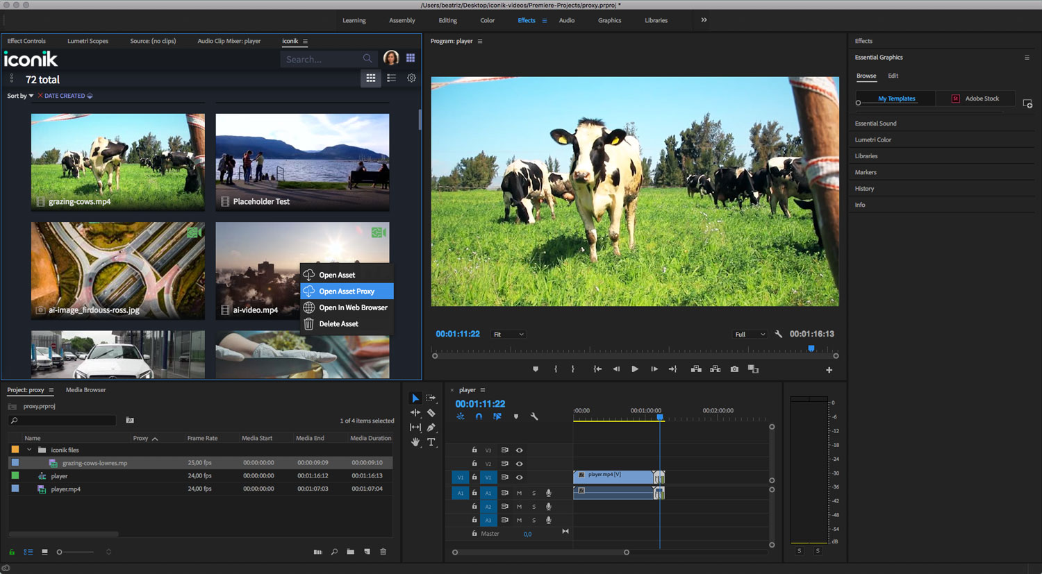 image from Cantemo to Showcase Latest Integrations for the Adobe Video Tools with iconik, the AI-Enabled Video Management Hub, at IBC 2018