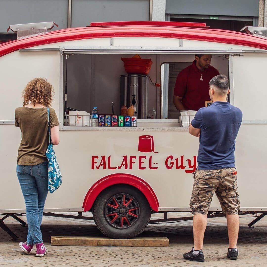 Falafel Guys Briggate Van
