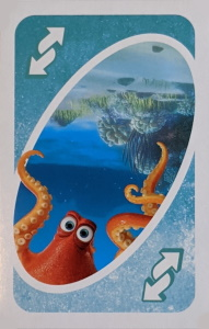 Finding Dory Turquoise Uno Reverse Card