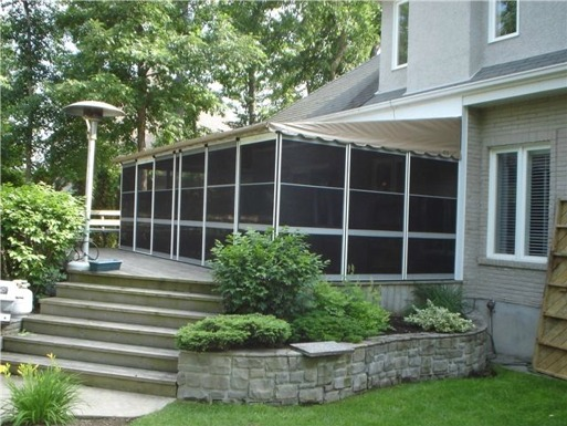 Home Attached Screenrooms | Deck Enclosure Kits in Canada ...