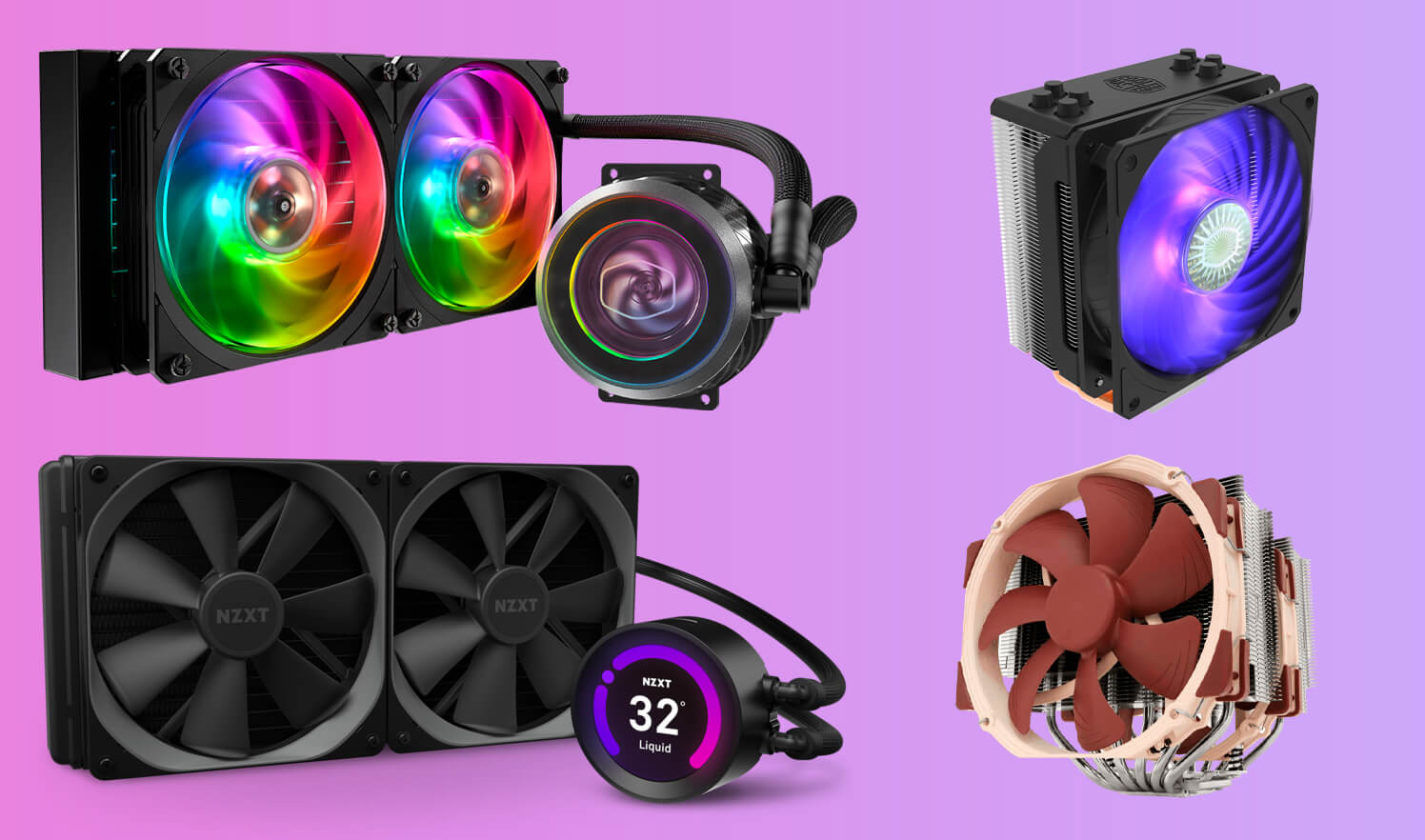 Best CPU Coolers: Air and Liquid Cooling