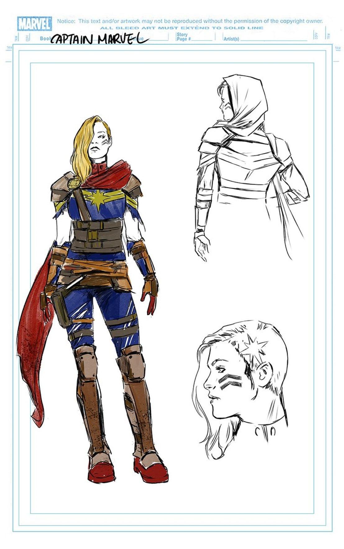 Carmen Carnero's costume designs
