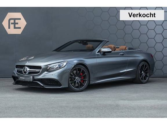 Mercedes-Benz S-Klasse 63 AMG S63 Cabriolet + AKRAPOVIC +  BURMESTER HIGH END + SWAROVSKI