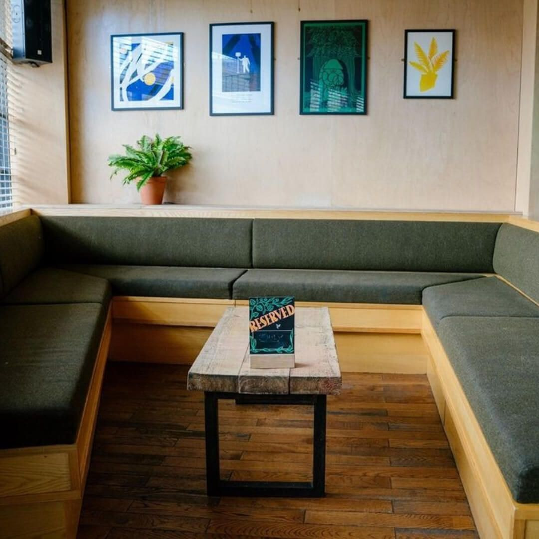 Headrow House indoor seating