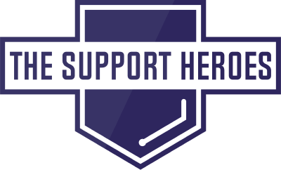 The Support Heroes logo