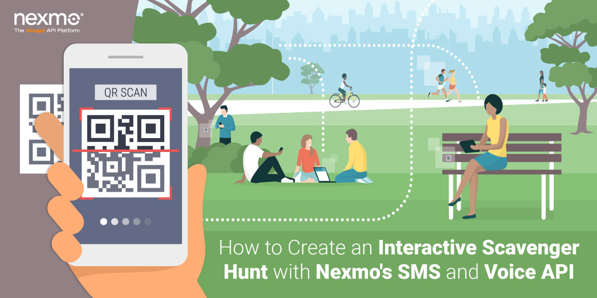 How to Create an Interactive Scavenger Hunt with Nexmo's SMS and Voice API