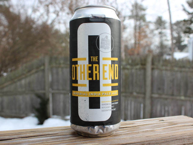 The Other End, a Imperial IPA brewed by Abandoned Building Brewery