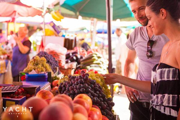 4 Reasons To Explore Local Markets On Your Italian Yacht Getaway