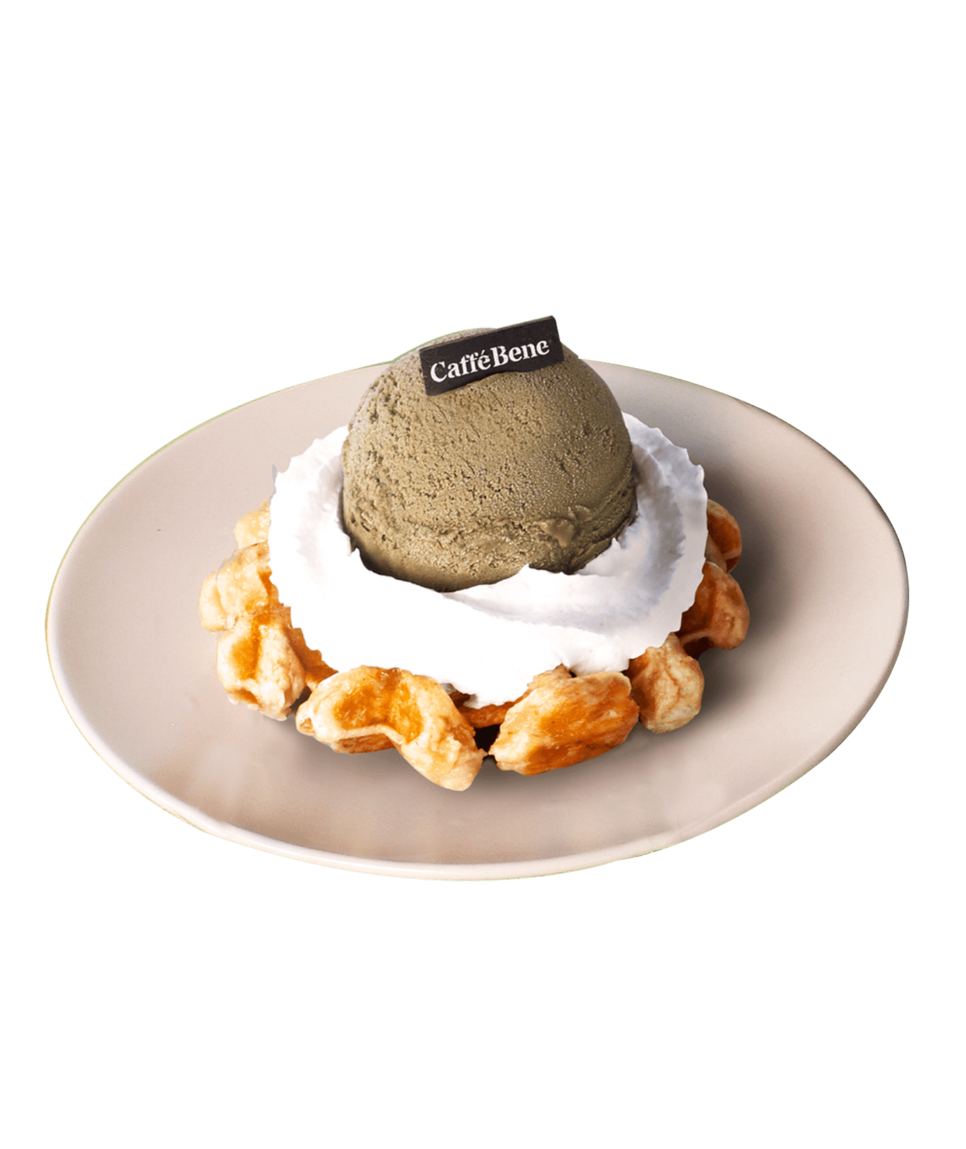 Houjicha Waffle