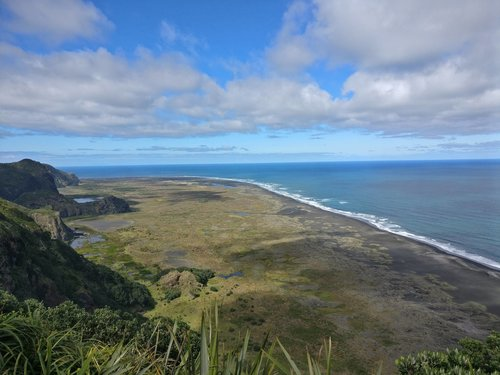 View towards Whatipu Beach