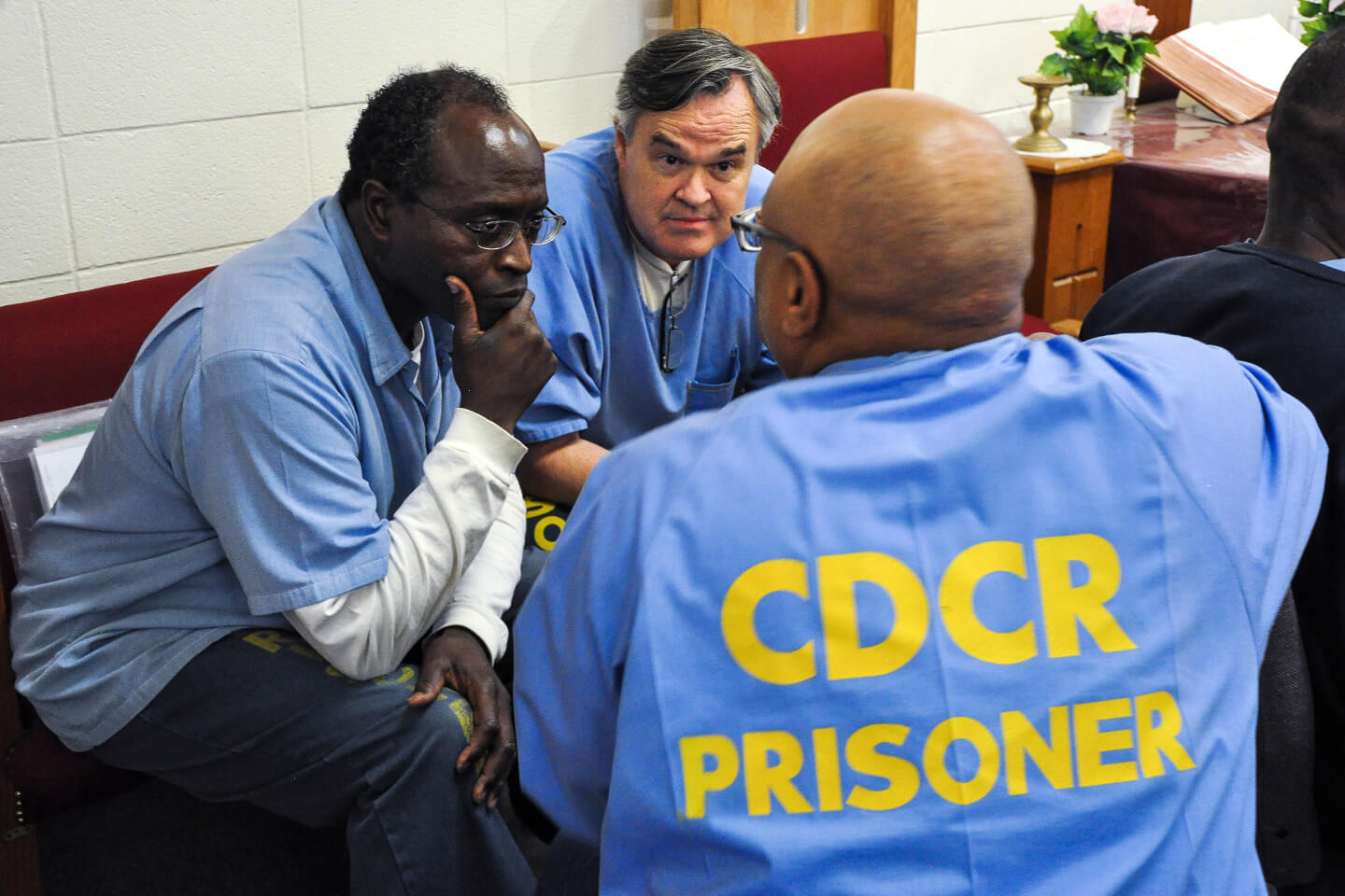 San Quentin inmages confer