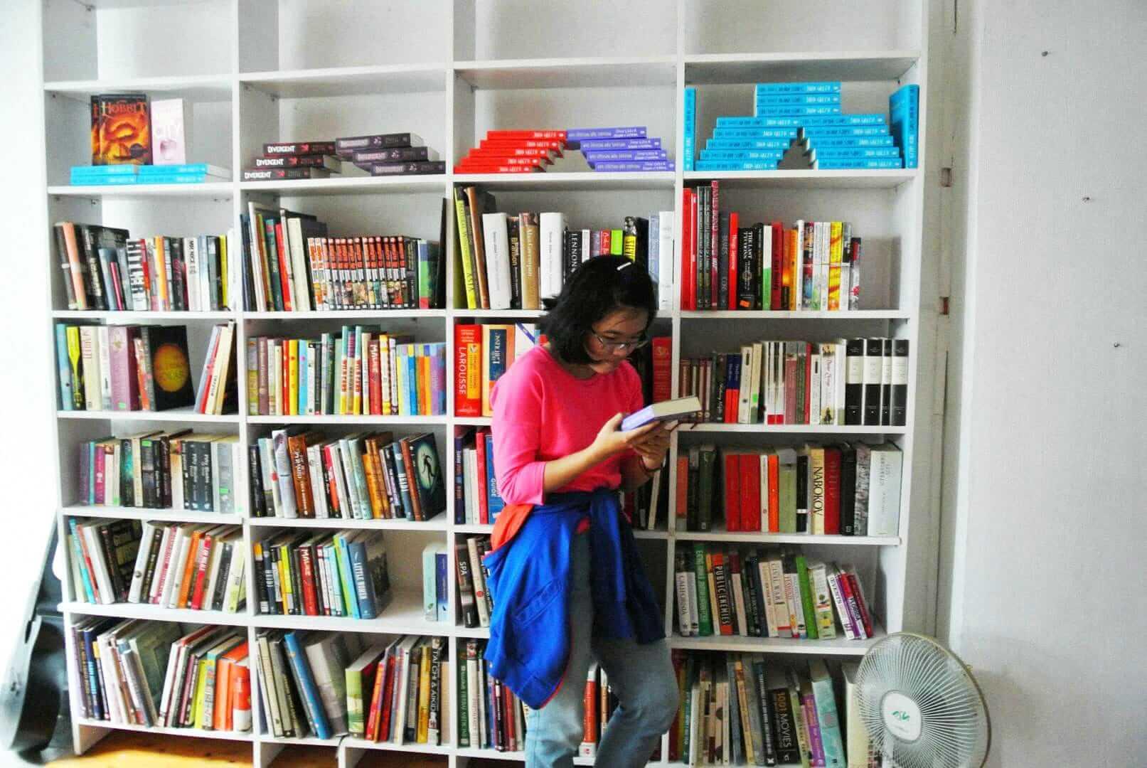 Книжный магазин BOA, Вьетнам, Хошимин. Источник: fb.com/BooksOfAwesome