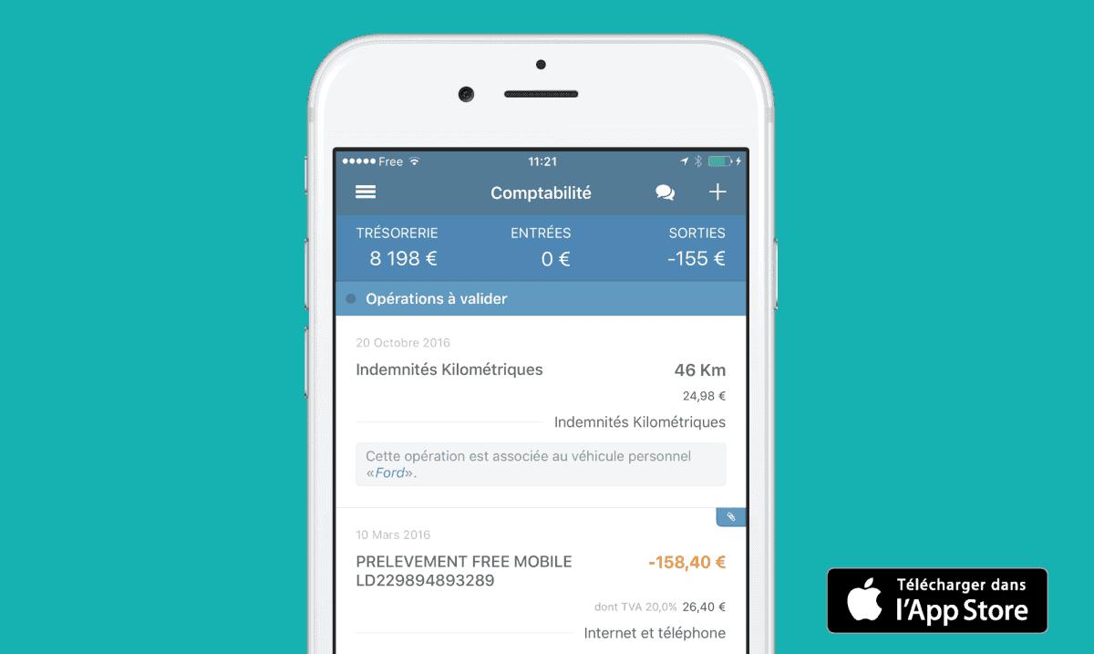 Gérer vos indemnités kilométriques avec votre IPhone