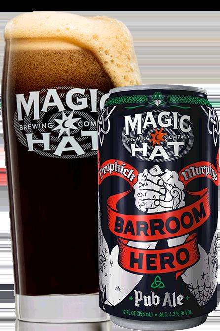 Barroom Hero Pint and Can
