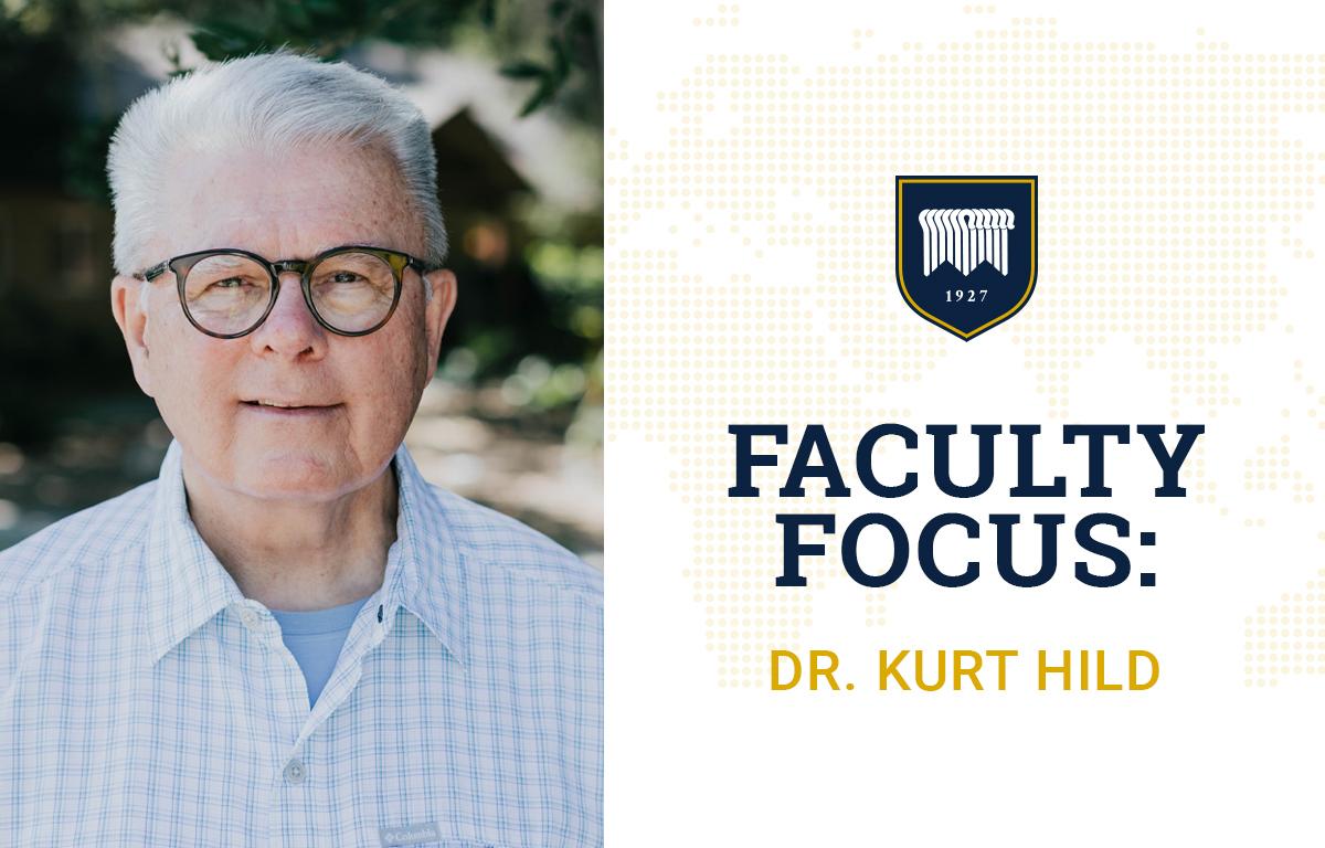 Faculty Focus: Kurt Hild